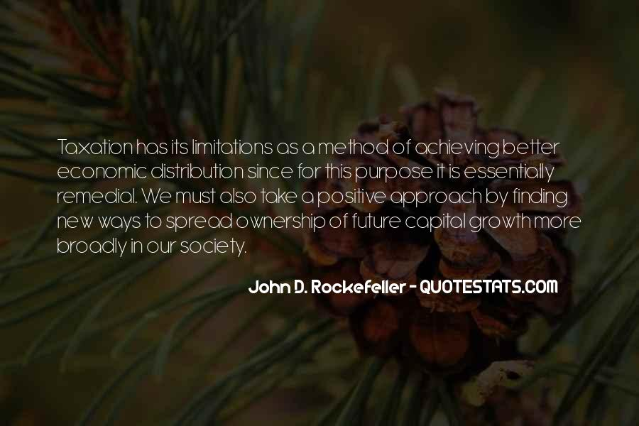 Quotes About Rockefeller #436818