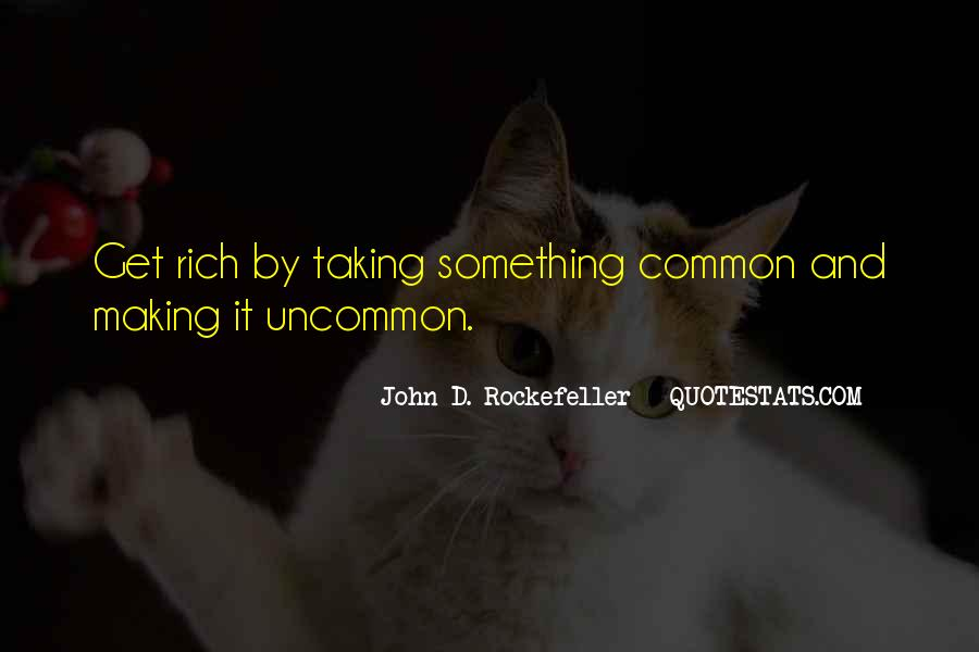 Quotes About Rockefeller #55413