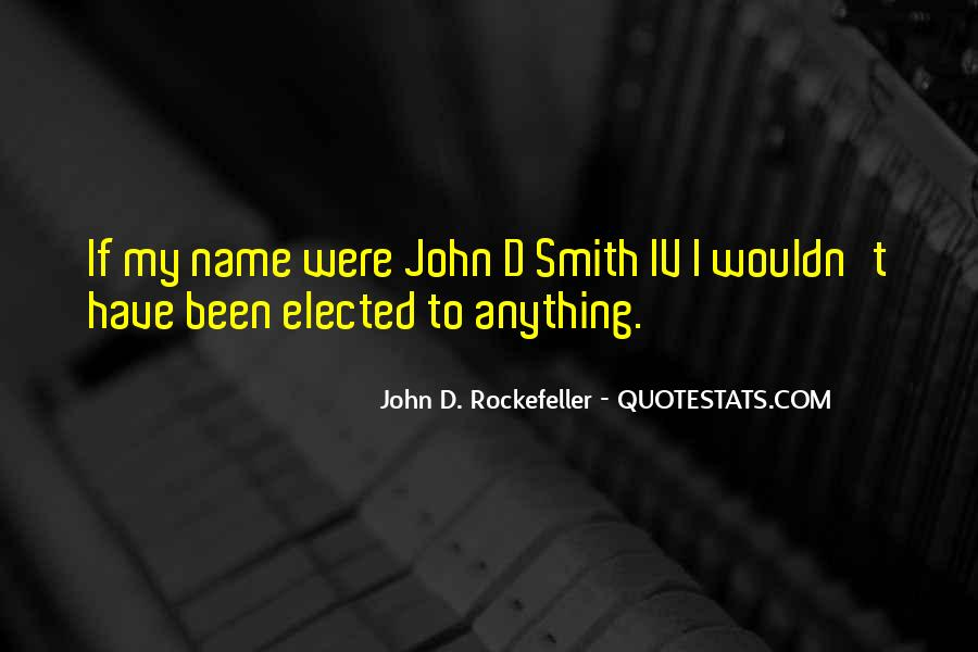 Quotes About Rockefeller #584621