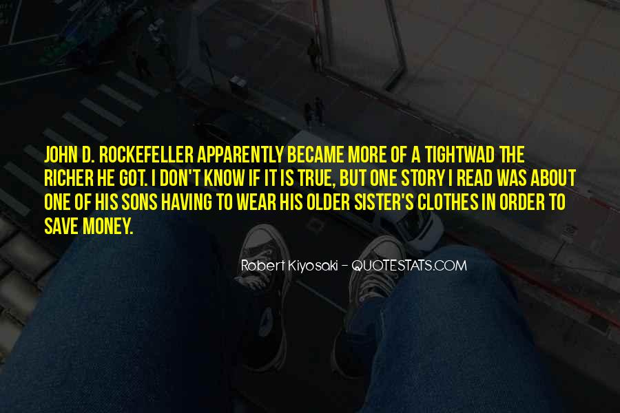 Quotes About Rockefeller #594883