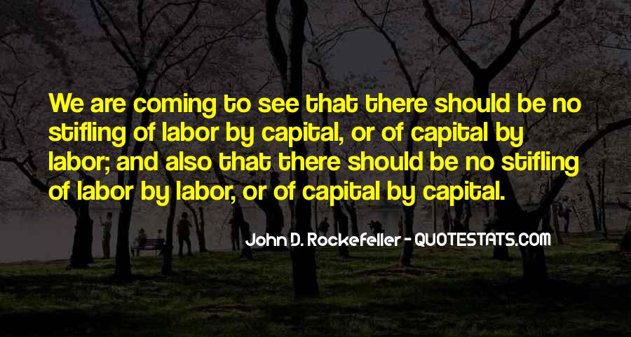 Quotes About Rockefeller #623369
