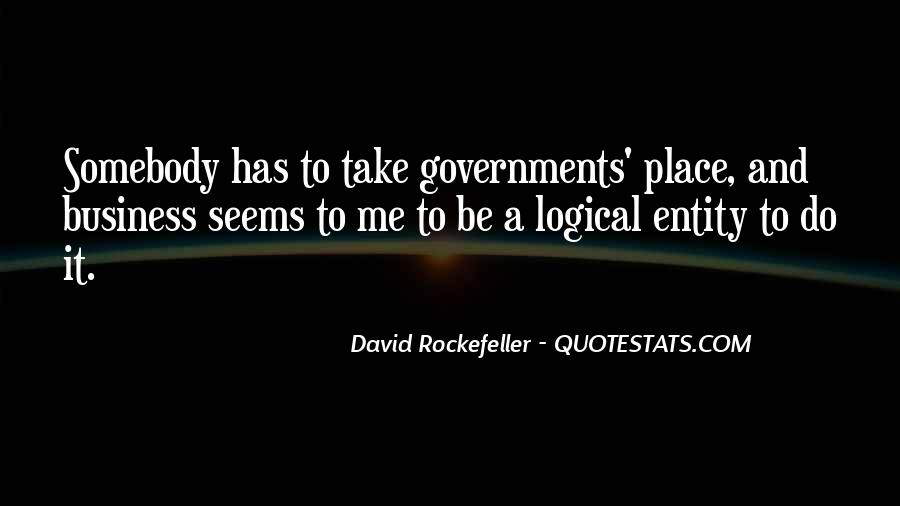 Quotes About Rockefeller #667732