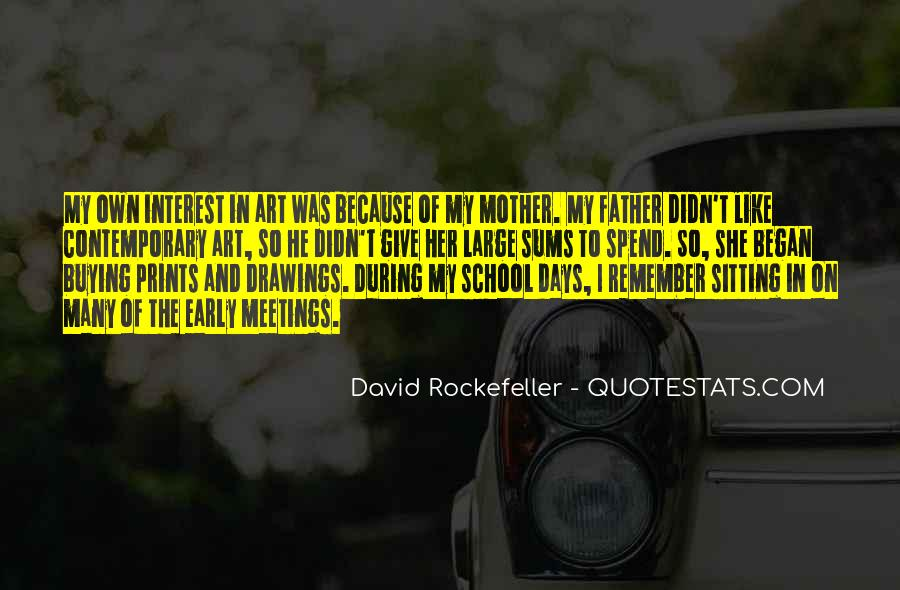 Quotes About Rockefeller #744035