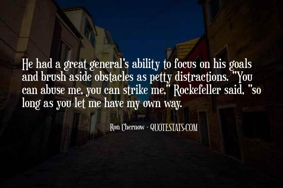 Quotes About Rockefeller #89810
