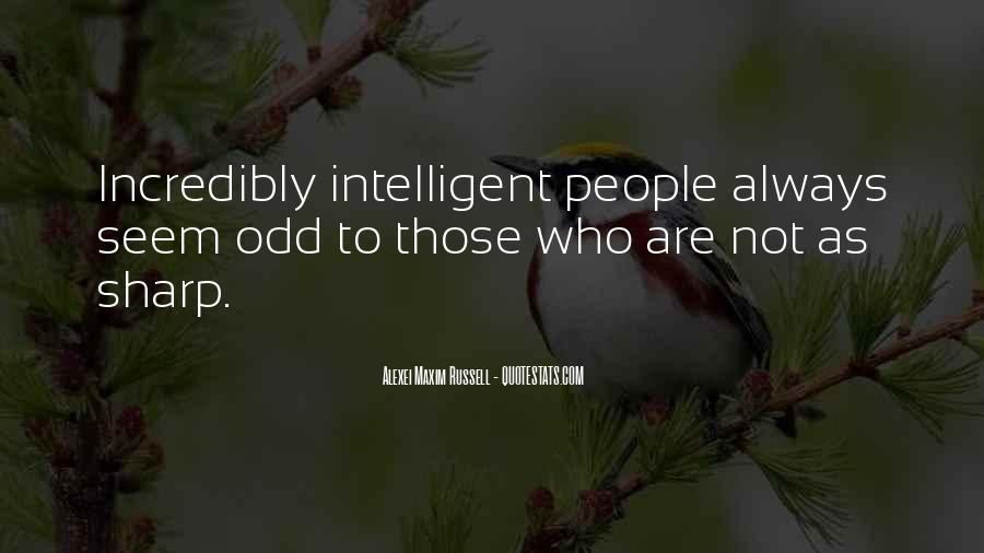 Quotes About Stupidity And Intelligence #1097829