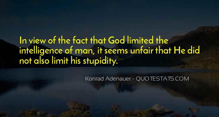 Quotes About Stupidity And Intelligence #1240382