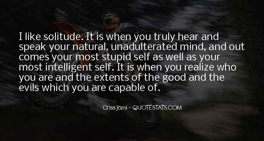 Quotes About Stupidity And Intelligence #1858631