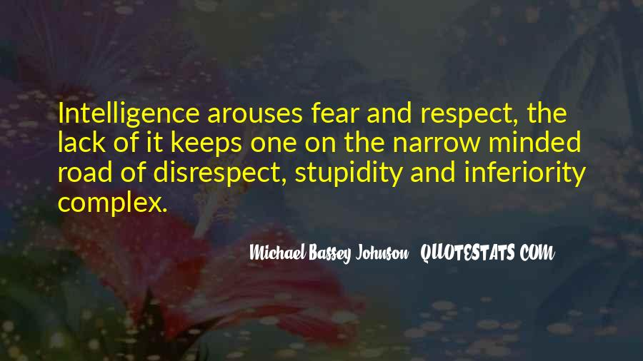 Quotes About Stupidity And Intelligence #731768