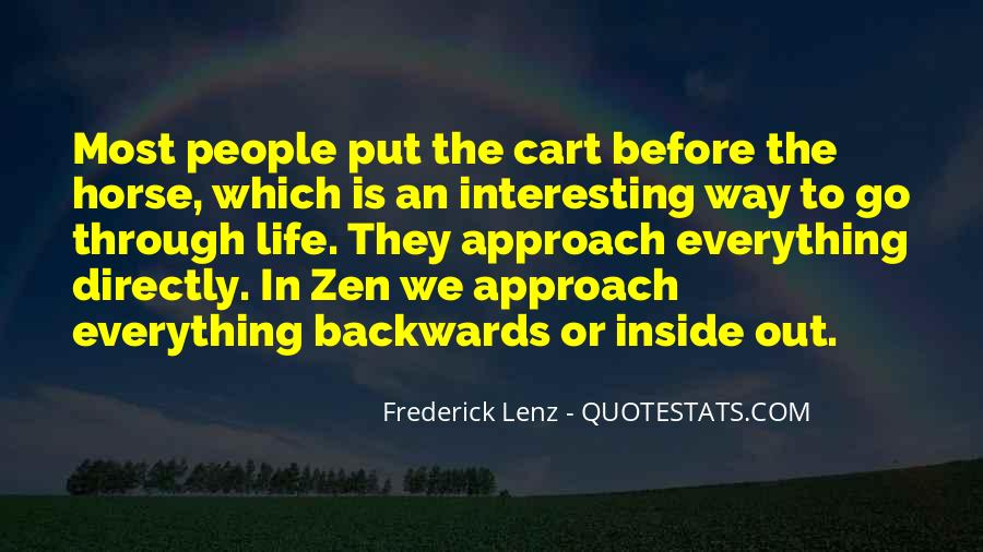Quotes About Not Going Backwards In Life #247870