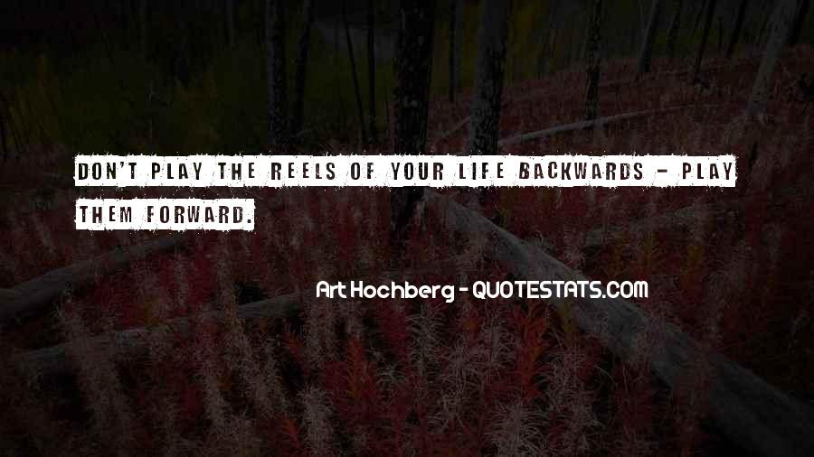 Quotes About Not Going Backwards In Life #705151