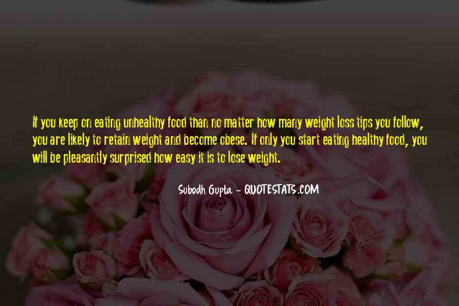 Quotes About Nutrition And Healthy Eating #1269265