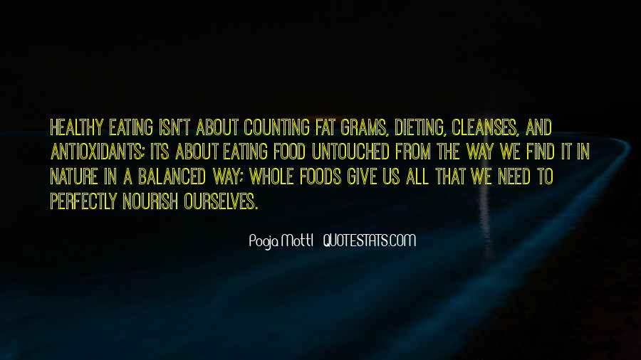 Quotes About Nutrition And Healthy Eating #214151