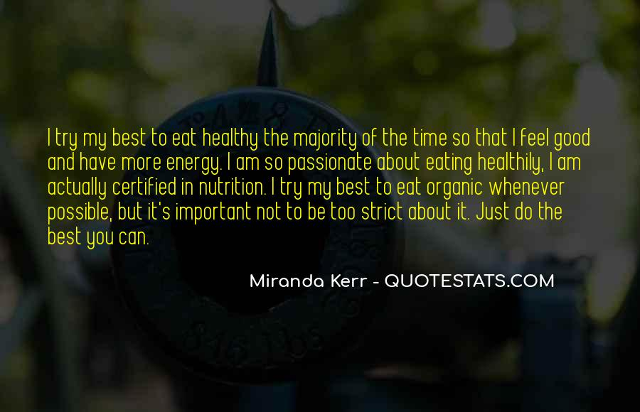 Quotes About Nutrition And Healthy Eating #948827