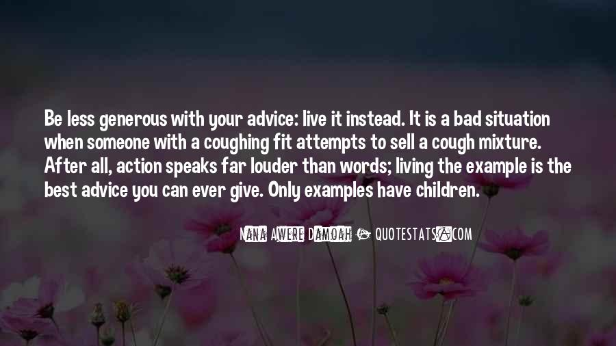 Quotes About Bad Advice #1267989