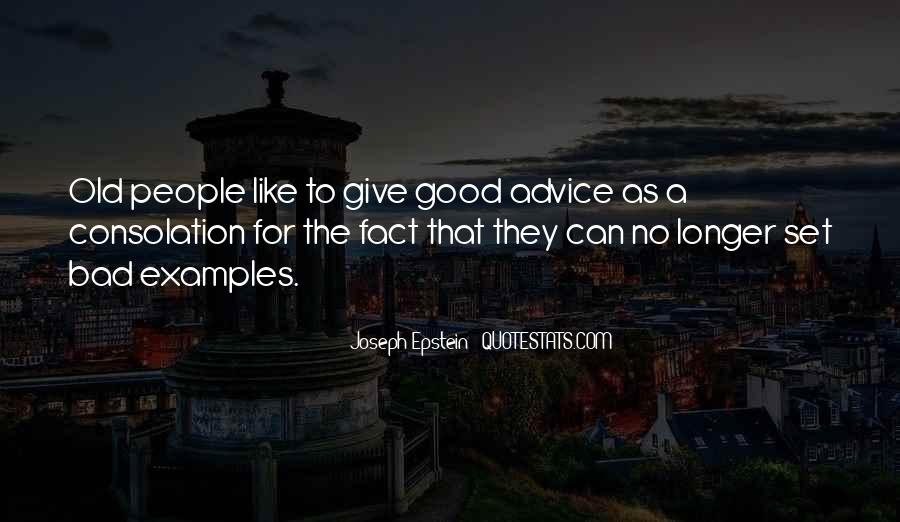 Quotes About Bad Advice #311969