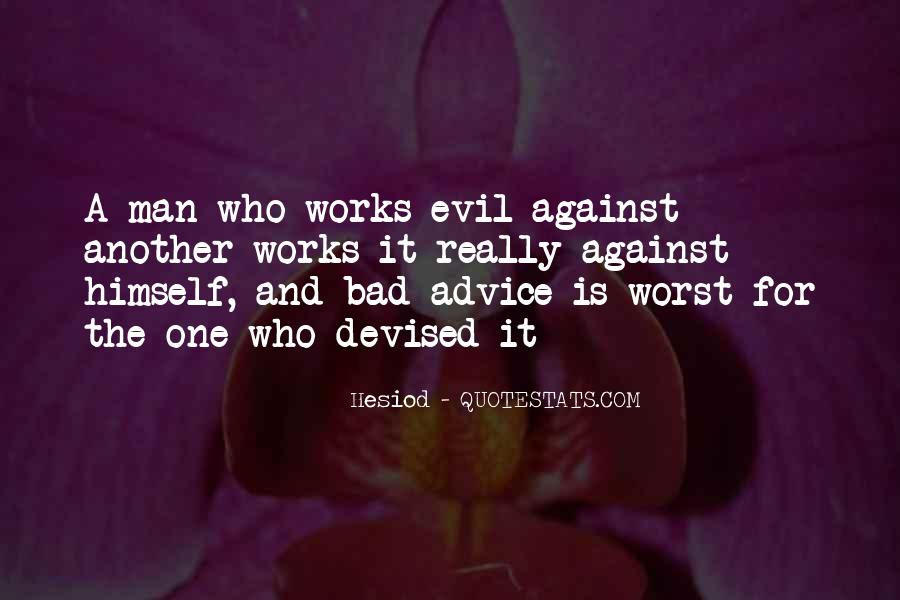 Quotes About Bad Advice #512443