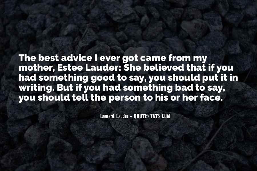 Quotes About Bad Advice #525673