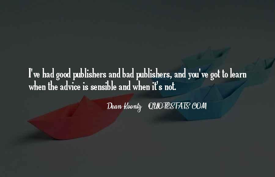 Quotes About Bad Advice #740359