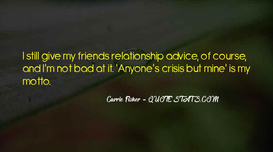 Quotes About Bad Advice #825302