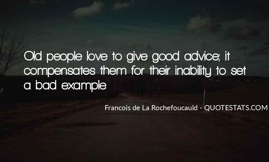 Quotes About Bad Advice #855221