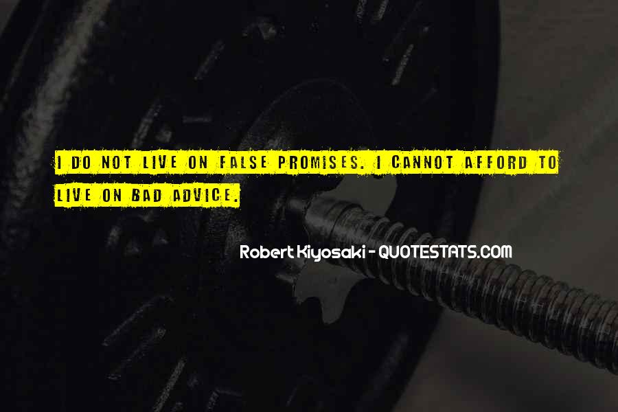 Quotes About Bad Advice #933076