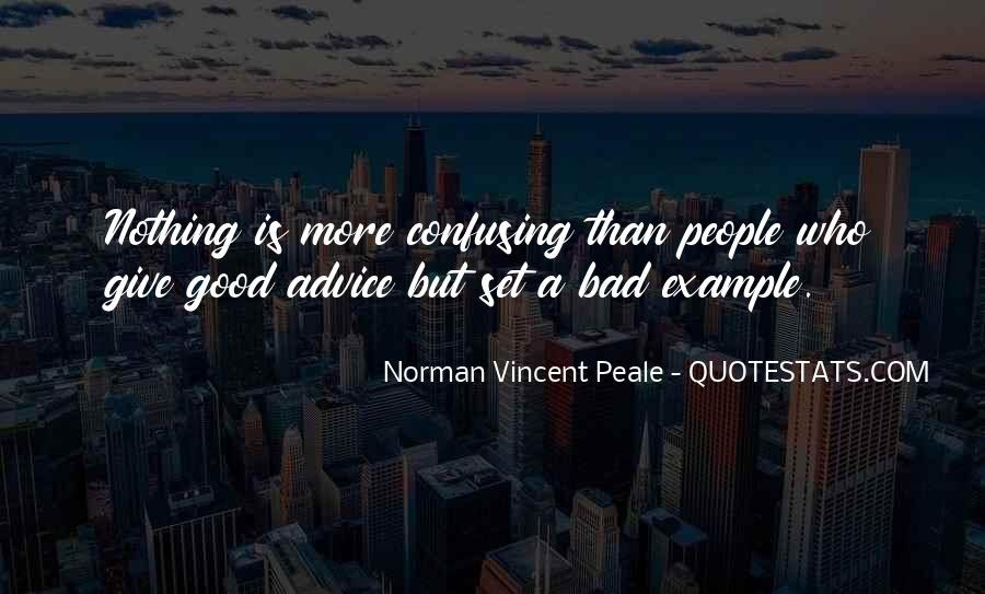 Quotes About Bad Advice #990109