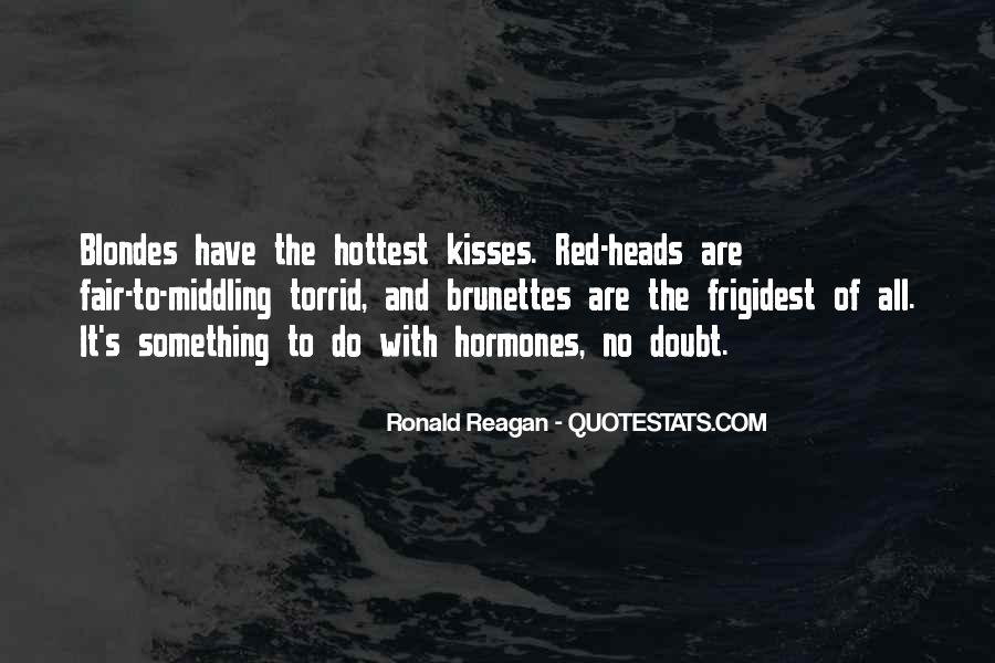 Quotes About Red Heads #1342809