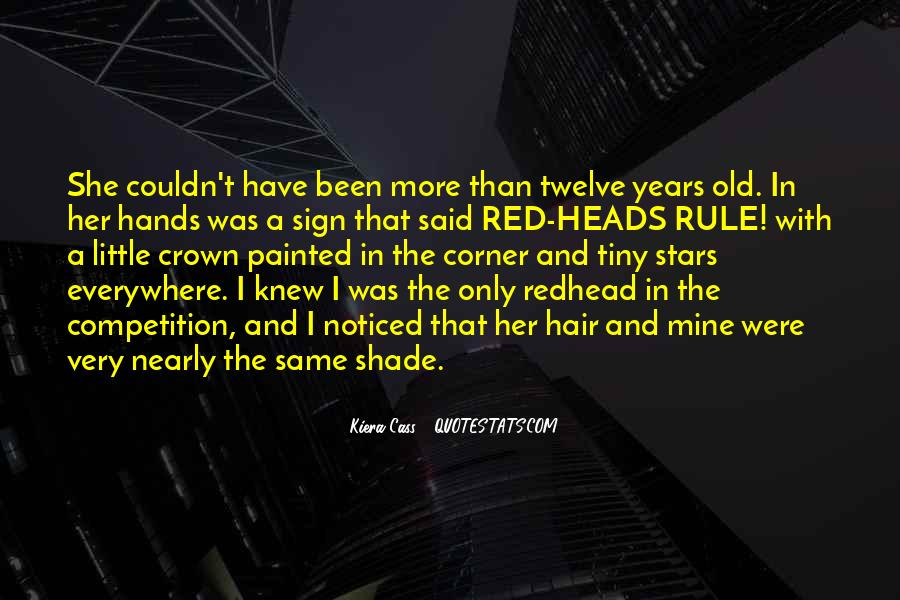 Quotes About Red Heads #1720224