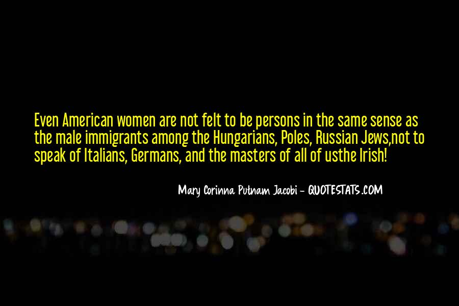 Quotes About Italian Immigrants #675456
