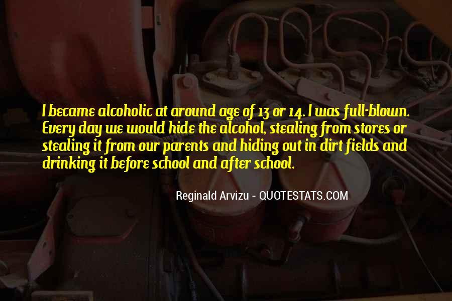Quotes About Alcoholic Parents #1751555