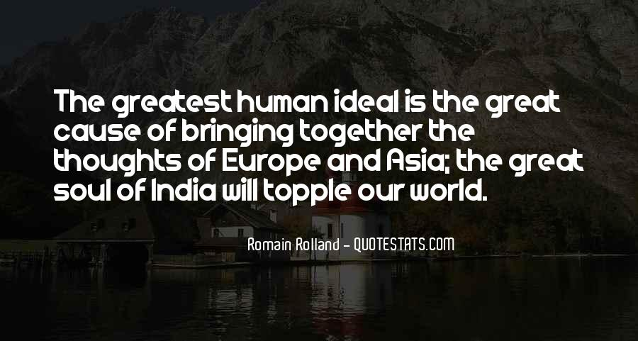 Quotes About The Ideal World #156658