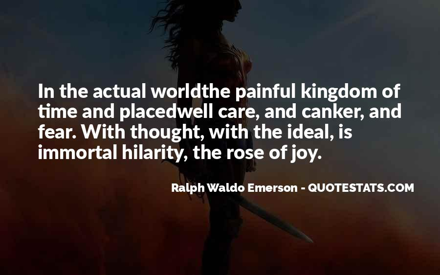 Quotes About The Ideal World #880814