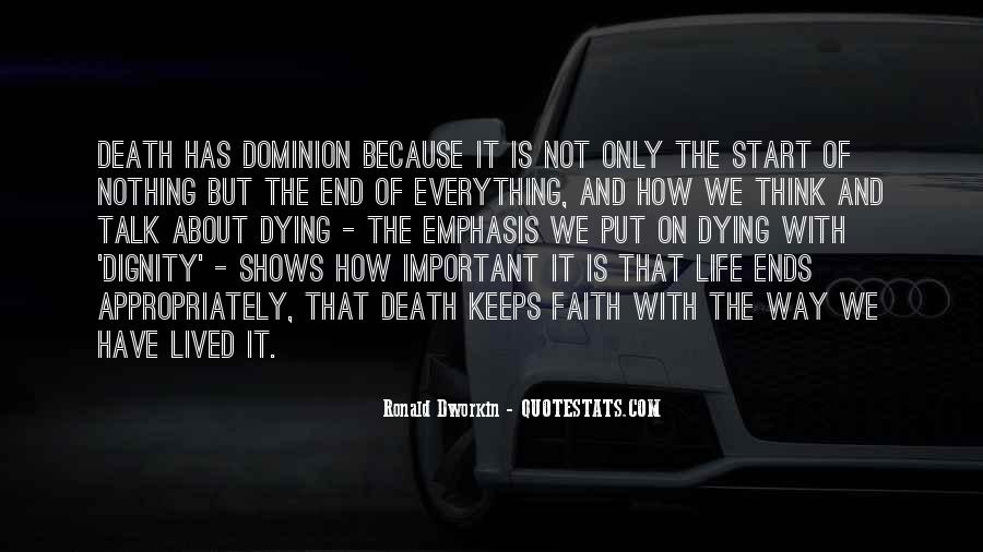 Quotes About Dying For Faith #1335393