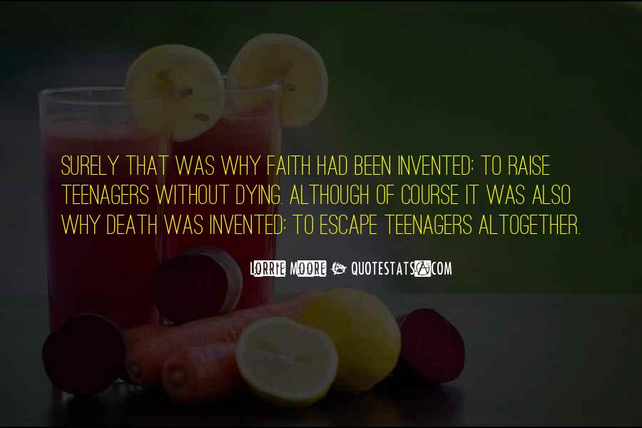 Quotes About Dying For Faith #1546976