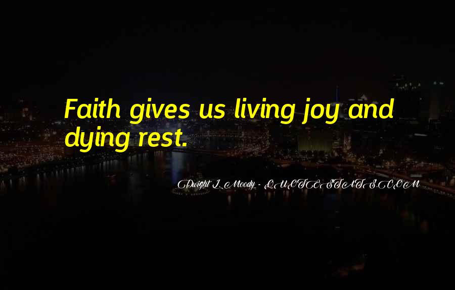 Quotes About Dying For Faith #1728814