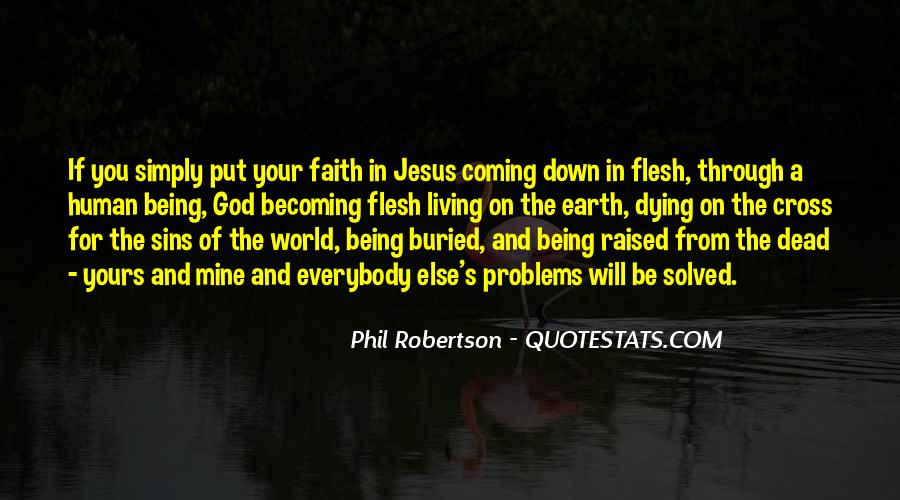 Quotes About Dying For Faith #1729414
