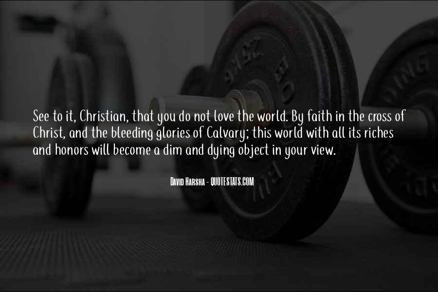 Quotes About Dying For Faith #1846345