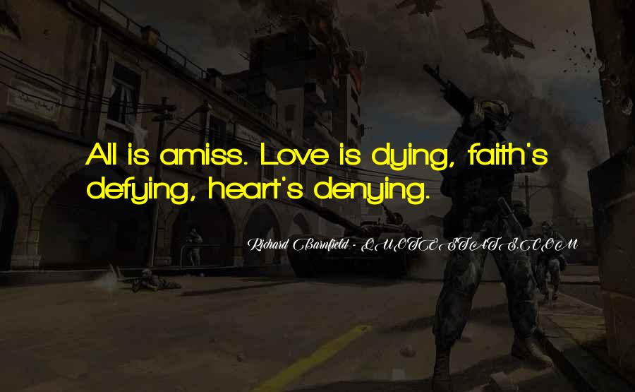 Quotes About Dying For Faith #543662