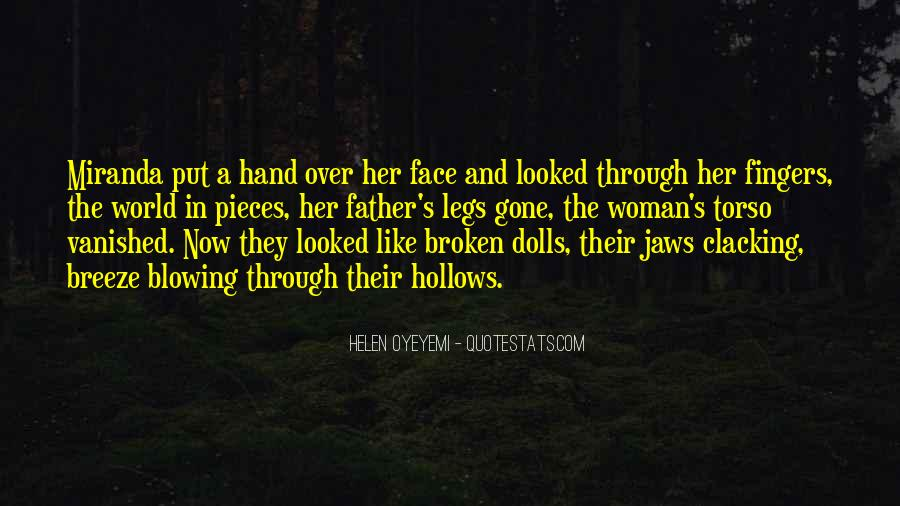 Quotes About Broken Hand #1239763
