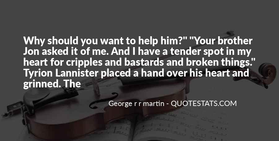 Quotes About Broken Hand #1381556