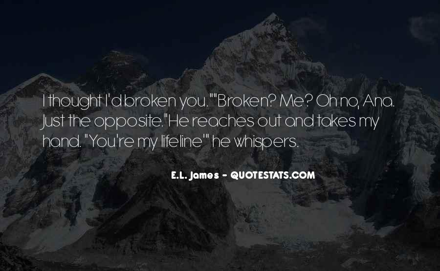 Quotes About Broken Hand #1637684