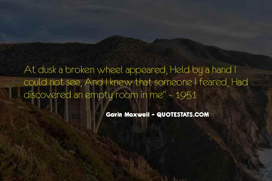 Quotes About Broken Hand #205997