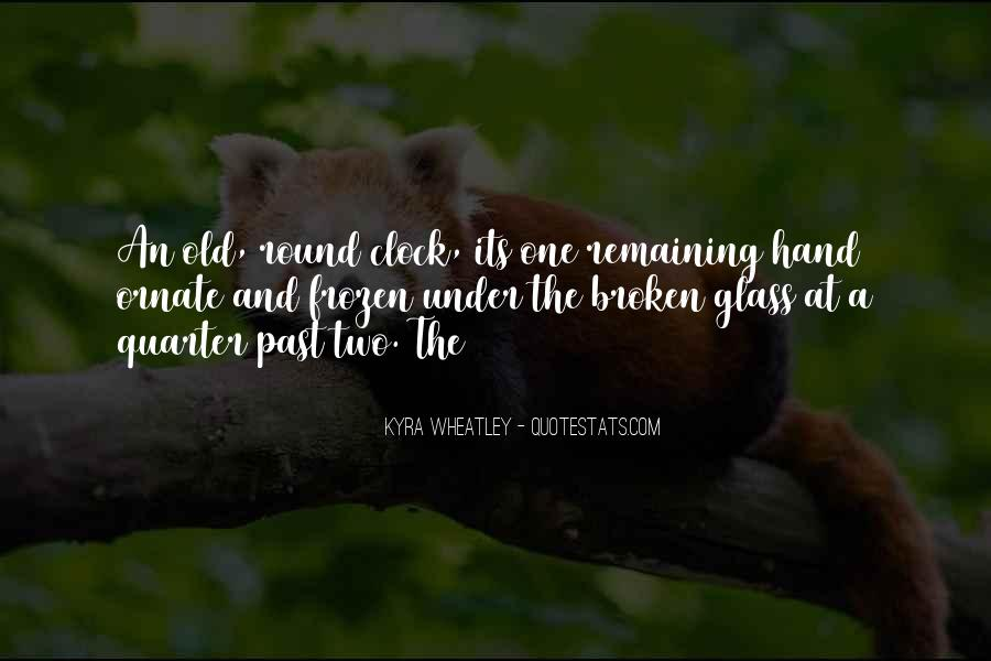 Quotes About Broken Hand #682306