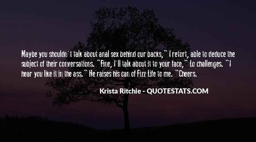 Quotes About Cheers To Life #1788043