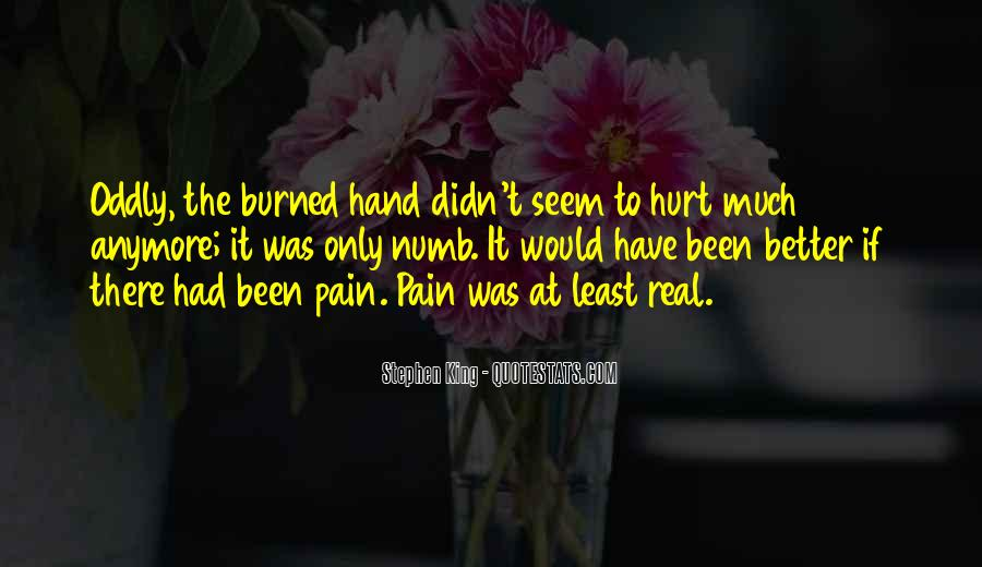 Quotes About You Can't Hurt Me Anymore #95921
