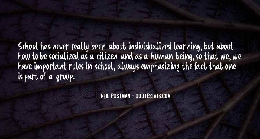 Quotes About Individualized Learning #258932