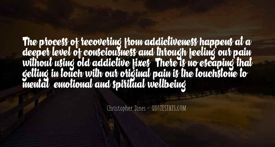 Quotes About Recovering From Addiction #1299626