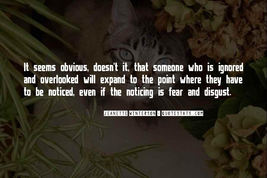 Quotes About Ignored By Someone #15219