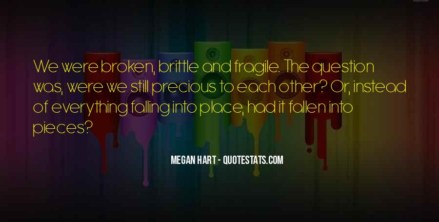 Quotes About Pieces Falling Into Place #746311