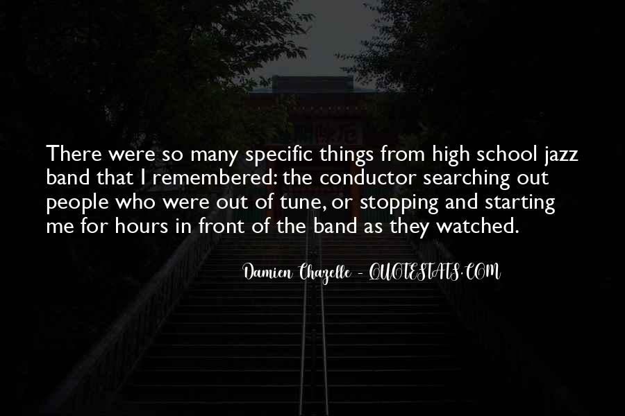 Quotes About Starting High School #1290029